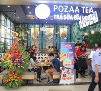 khai truong pozaa tea hai phong tang 2 big c hai phong