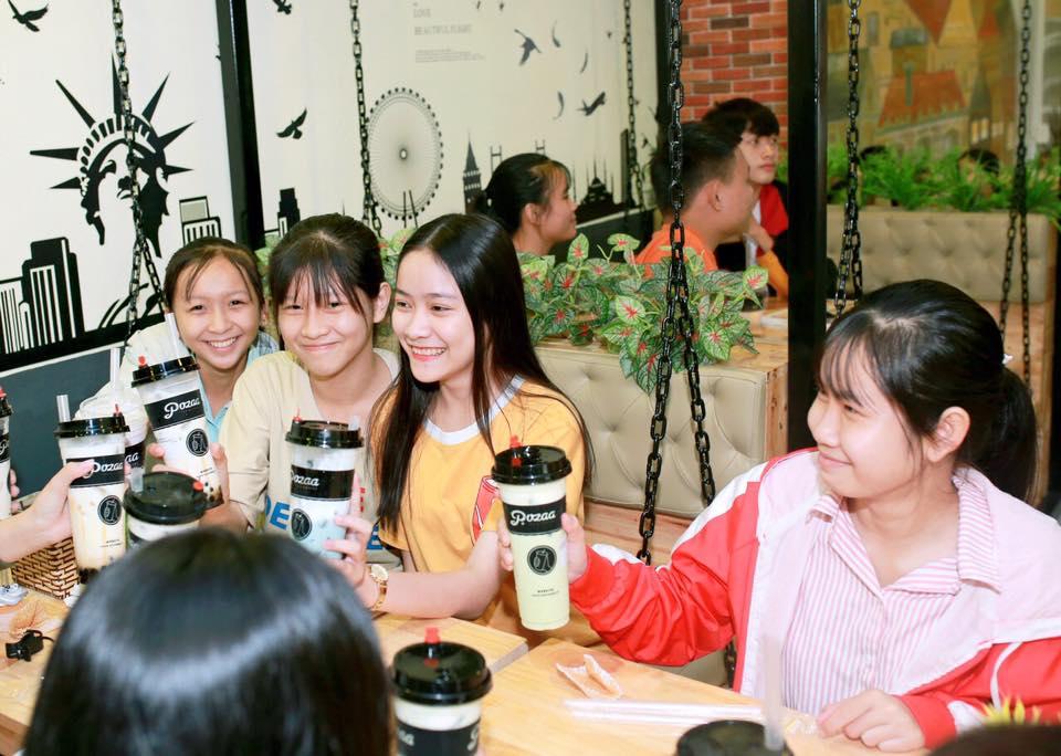 khách hàng pozaa tea quảng ngãi